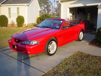 1994 Ford Mustang STD Convertible, 1994 Ford Mustang 2 Dr STD Convertible picture, exterior