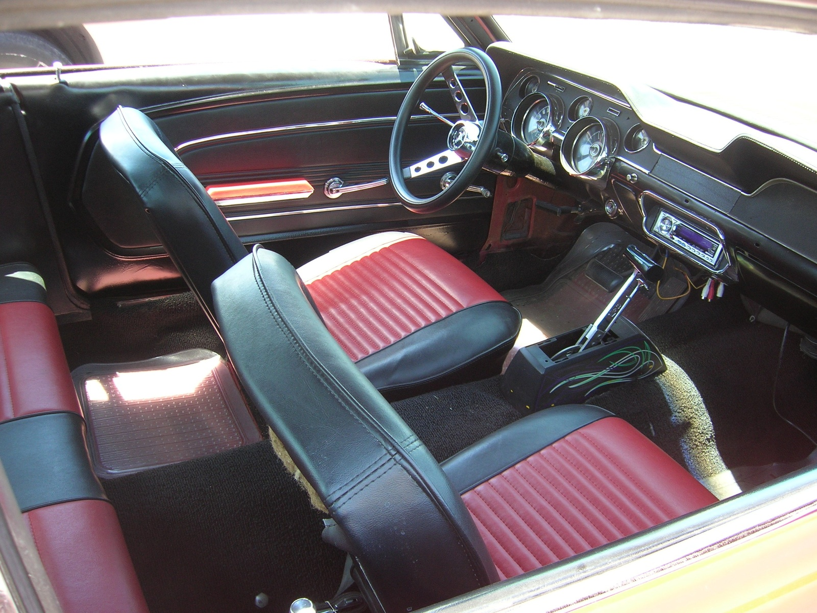 1967 mustang blue interior paint color - 1967 Ford Mustang Interior