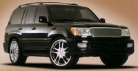 2003 Toyota Land Cruiser Picture Gallery