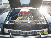 1978 Ford Pinto, one very nasty pinto it wiil put the fear of god in to you.351 clev.all roller mortor 800hp., engine