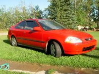 1996 Honda Civic, 1999 Honda Civic 2 Dr Si Coupe picture, exterior