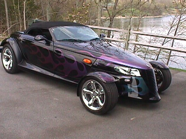 2001 Plymouth Prowler 2 Dr STD Convertible picture
