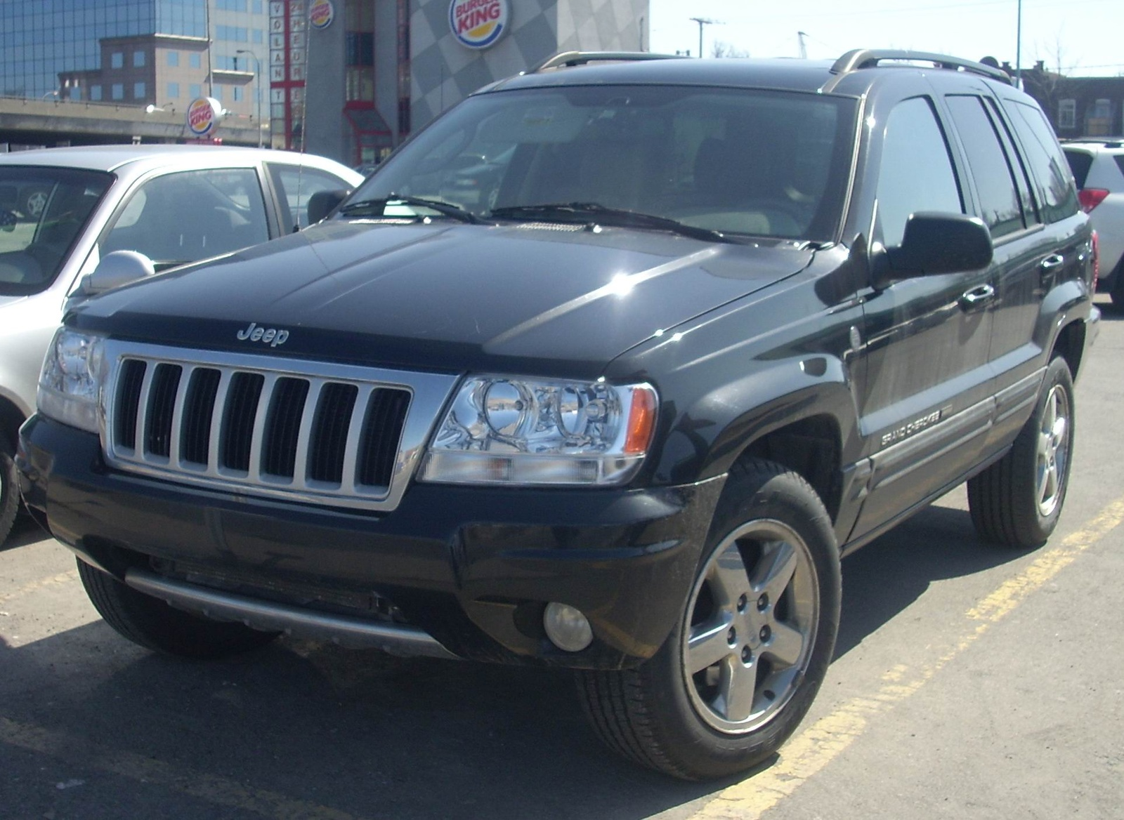picture of 2004 jeep grand cherokee overland 4wd exterior. Black Bedroom Furniture Sets. Home Design Ideas