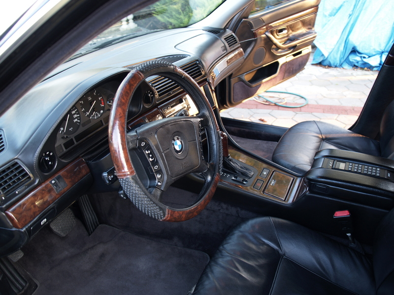 Bmw 750il. Bmw 750il Interior