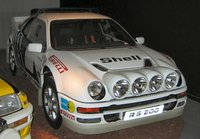 1985 Ford RS200 Overview