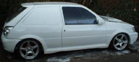 Picture of 1998 Ford Fiesta, exterior