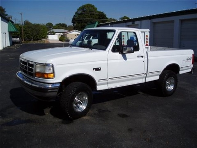 Picture of 1992 Ford F-150 XL 4WD LB, exterior, gallery_worthy