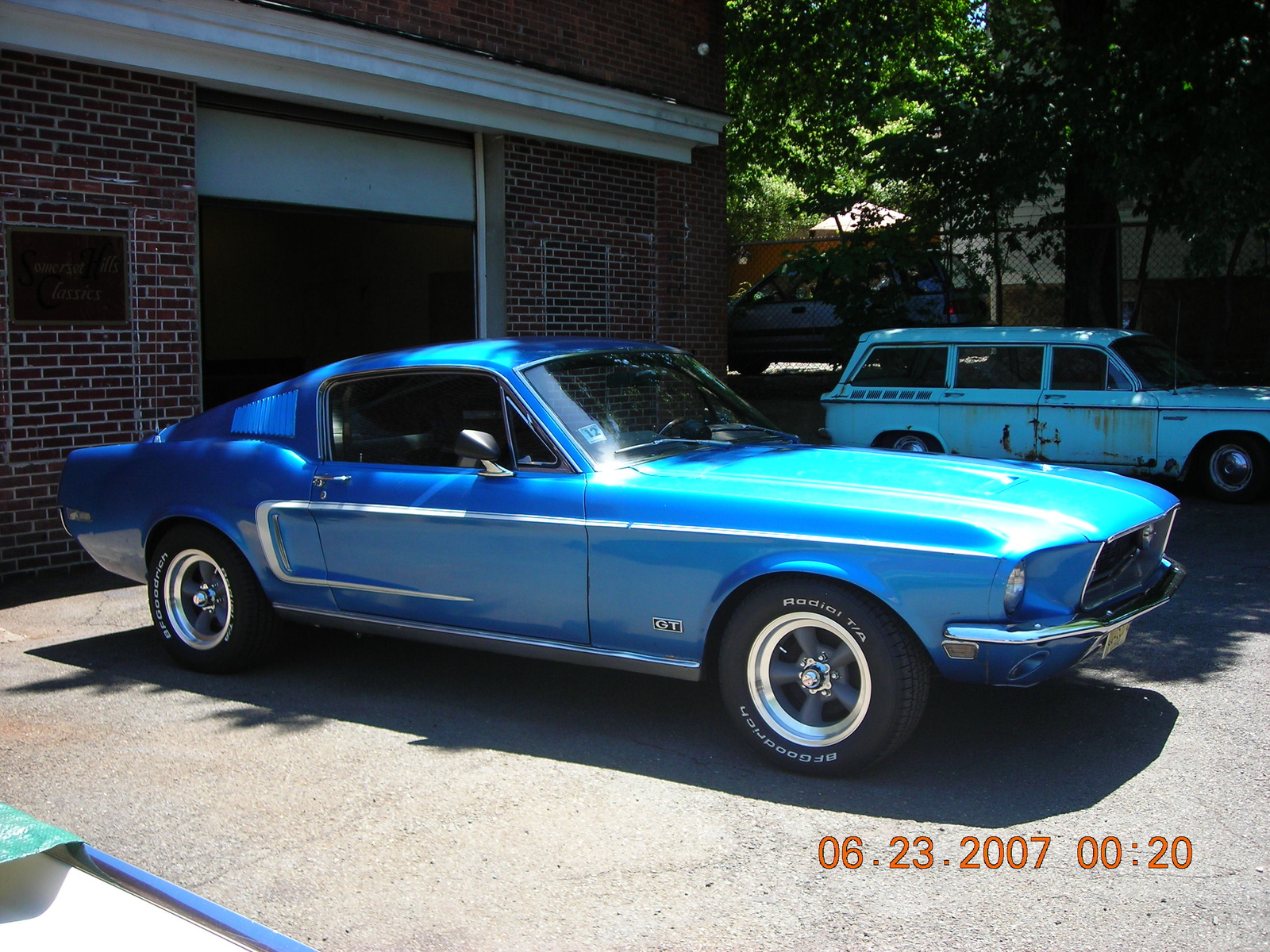 1968 ford mustang:
