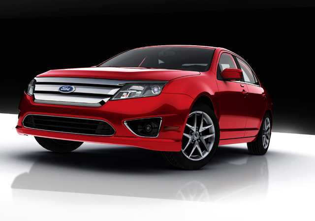 2010 Ford Fusion SEL, exterior, manufacturer