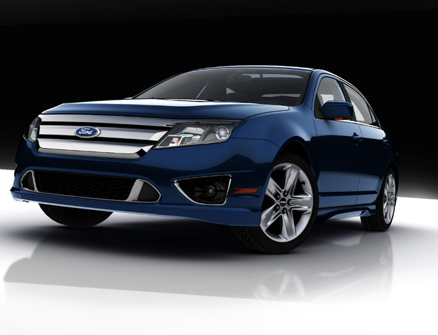 2010 Ford Fusion Sport V6, 2010 Ford Fusion Sport, exterior, manufacturer