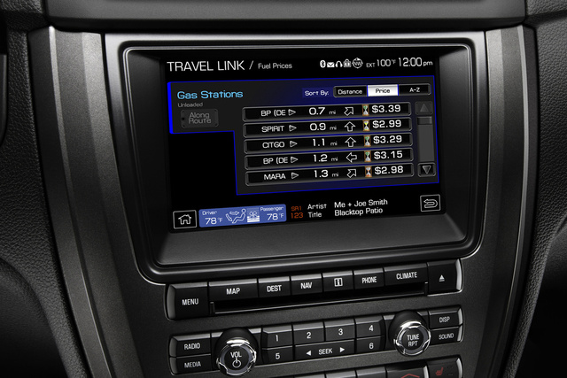 2010 Ford Fusion, Sirius Travel Link , interior, manufacturer