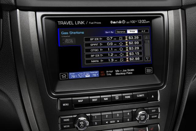2010 Ford Fusion, Sirius Travel Link , interior, manufacturer