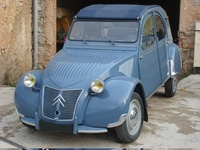 1960 Citroen 2CV Overview