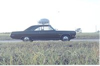 1971 Plymouth Scamp, Original equipment 71 Scamp with rare style hubcaps, exterior