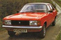 1978 Hillman Avenger Overview
