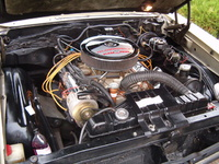 1965 Oldsmobile 442 picture, engine