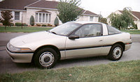 Picture of 1991 Plymouth Laser 2 Dr STD Hatchback, exterior, gallery_worthy