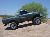 1993 Toyota Pickup 2 Dr Deluxe 4WD Standard Cab SB picture, exterior