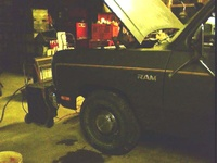 1985 Dodge Ram picture, exterior, engine