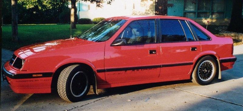 1987 Dodge Lancer - Overview