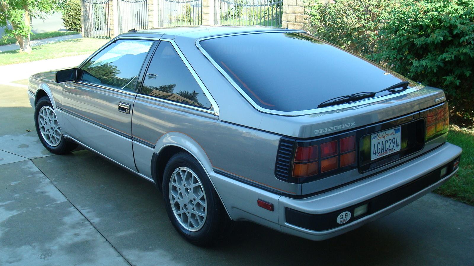 1985 datsun 200sx
