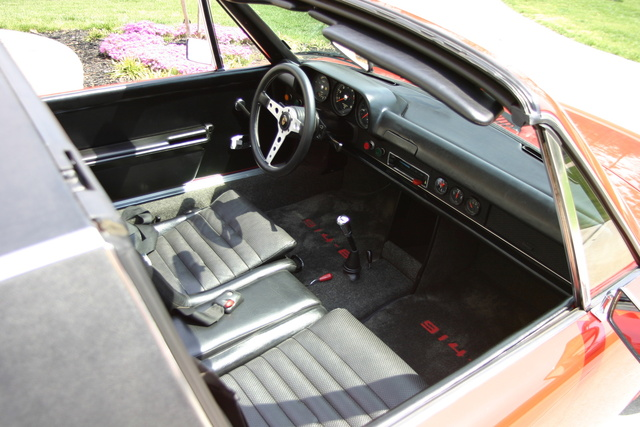 Picture of 1970 Porsche 914, interior