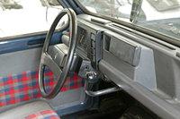 1984 Renault 4, good 'ole renault 4 umbrella shifter., interior