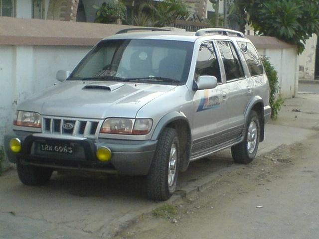 kia sportage model 2003