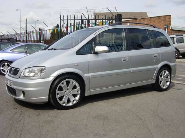 Picture of 2002 Vauxhall Zafira