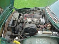 Picture of 1970 Saab 99, engine