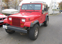 1993 Jeep Wrangler Overview