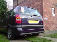 2001 Vauxhall Zafira Overview