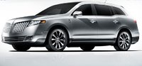 2010 Lincoln MKT, Front Left Quarter View, exterior, manufacturer