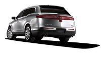 2010 Lincoln MKT, Back Left View, exterior, manufacturer