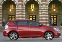 2010 Pontiac Vibe, Left Side View, manufacturer, exterior