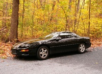 1998 Chevrolet Camaro Base, 1998 Chevrolet Camaro 2 Dr STD Hatchback picture, exterior