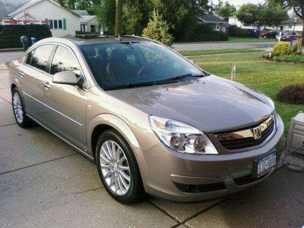 2008 Saturn Aura XR picture, exterior