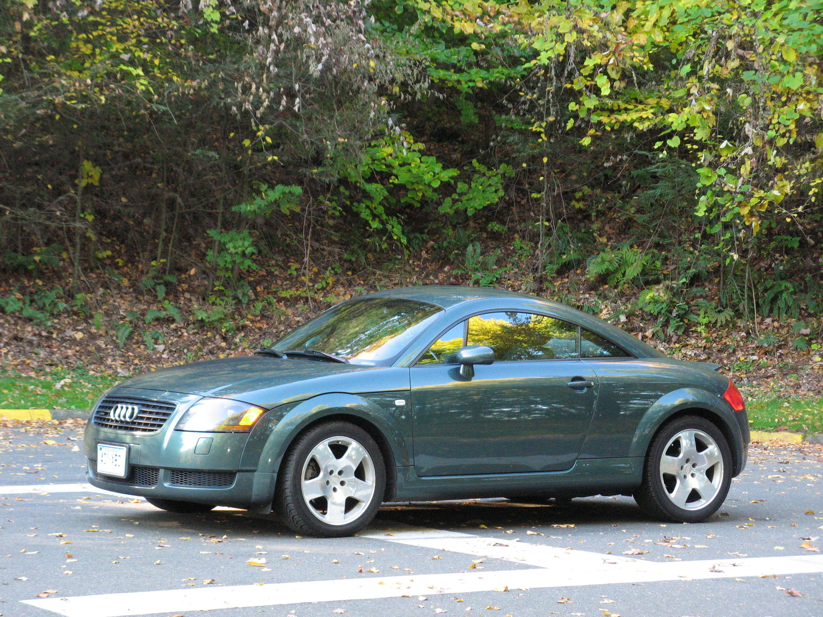 2001 audi tt 18 turbo coupe quattro review