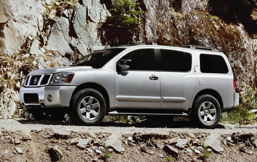 Picture of 2007 Nissan Armada, exterior, gallery_worthy