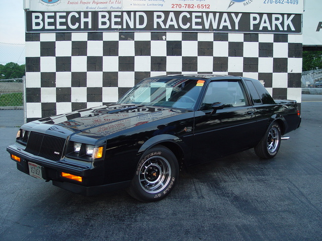 Foto de un 1987 Buick Grand National