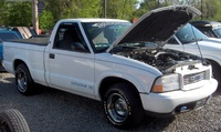 Picture of 1998 GMC Sonoma 2 Dr SL Standard Cab SB, exterior, engine