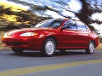 Picture of 1996 Hyundai Elantra 4 Dr GLS Sedan, exterior