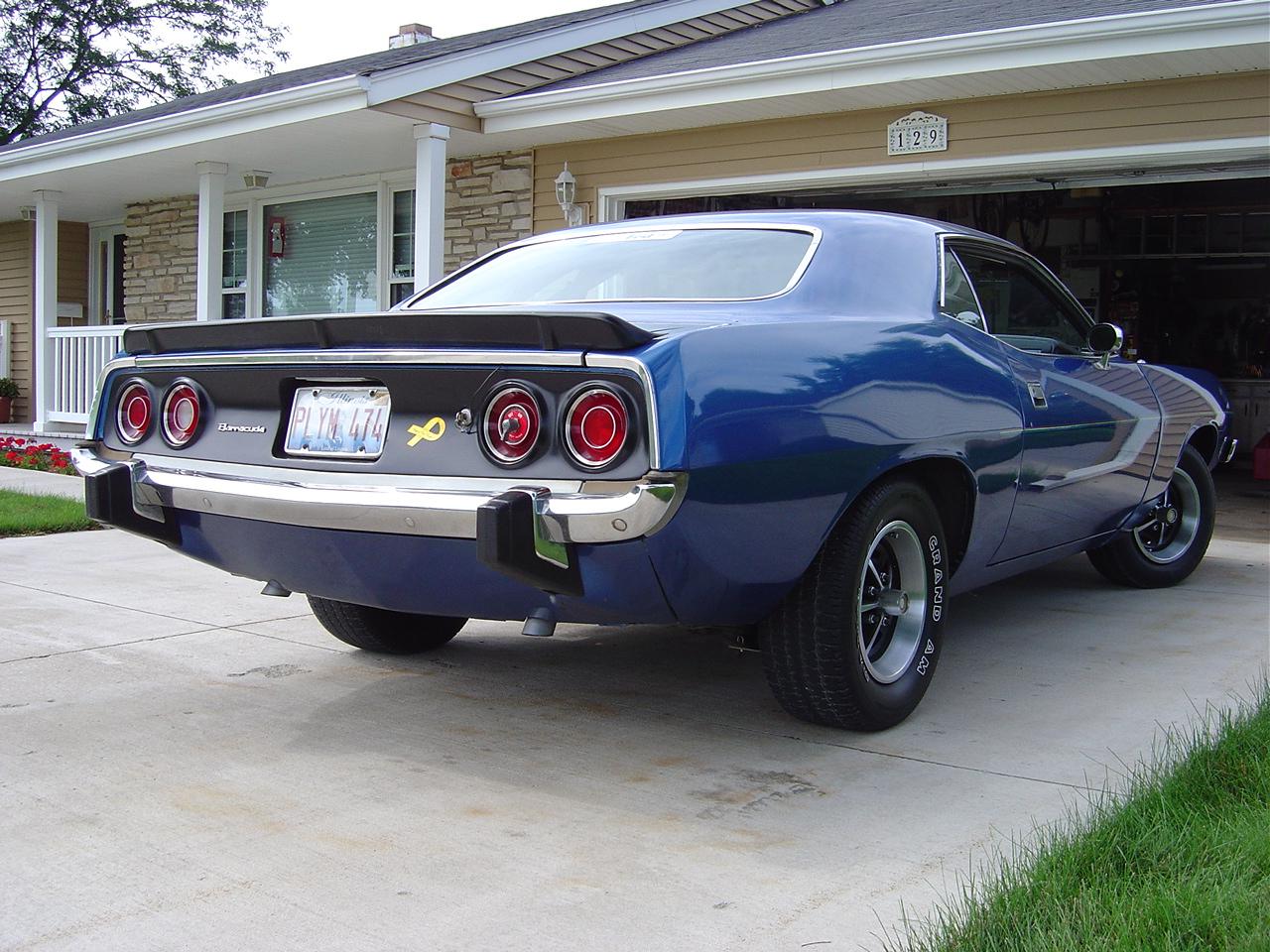 barracuda car 1974 - photo #22