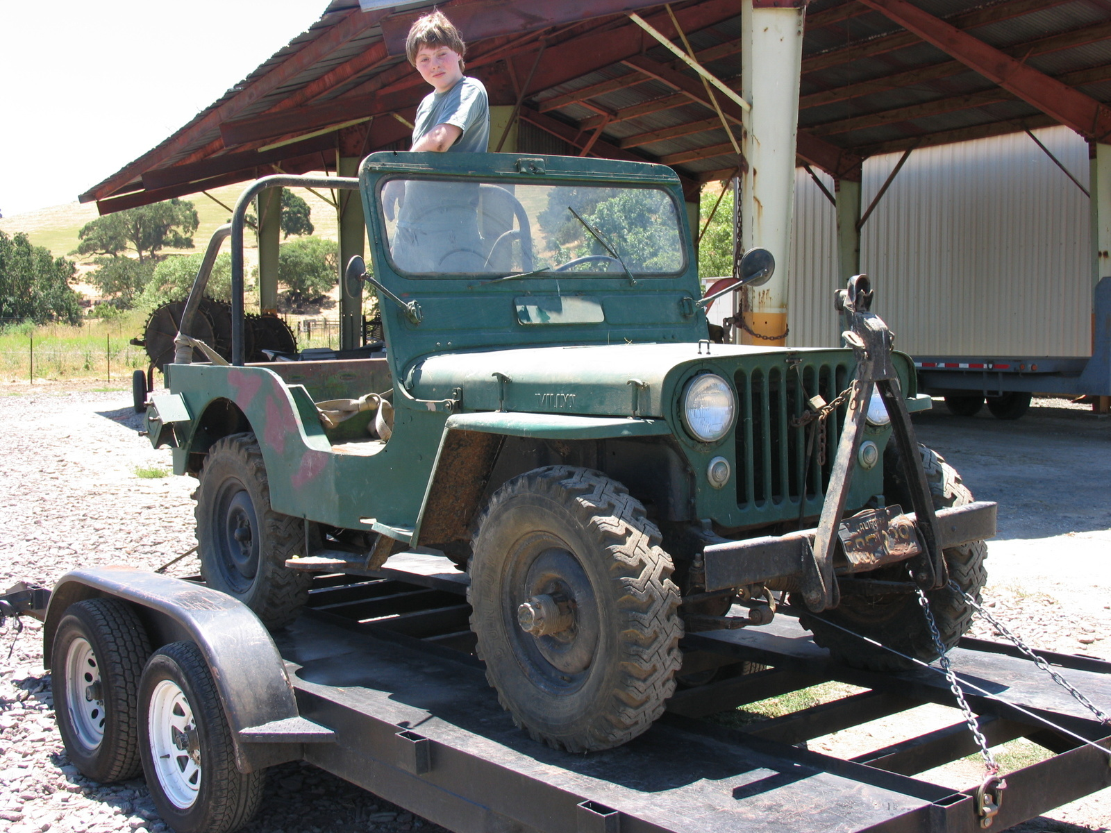 1964 Jeep Cj5 Hard Top