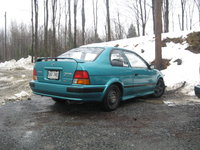 1996 Toyota Tercel 2 Dr STD Coupe, Winter edition , exterior