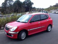 2001 Daihatsu Sirion Overview
