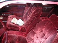 1987 Chrysler Fifth Avenue picture, interior