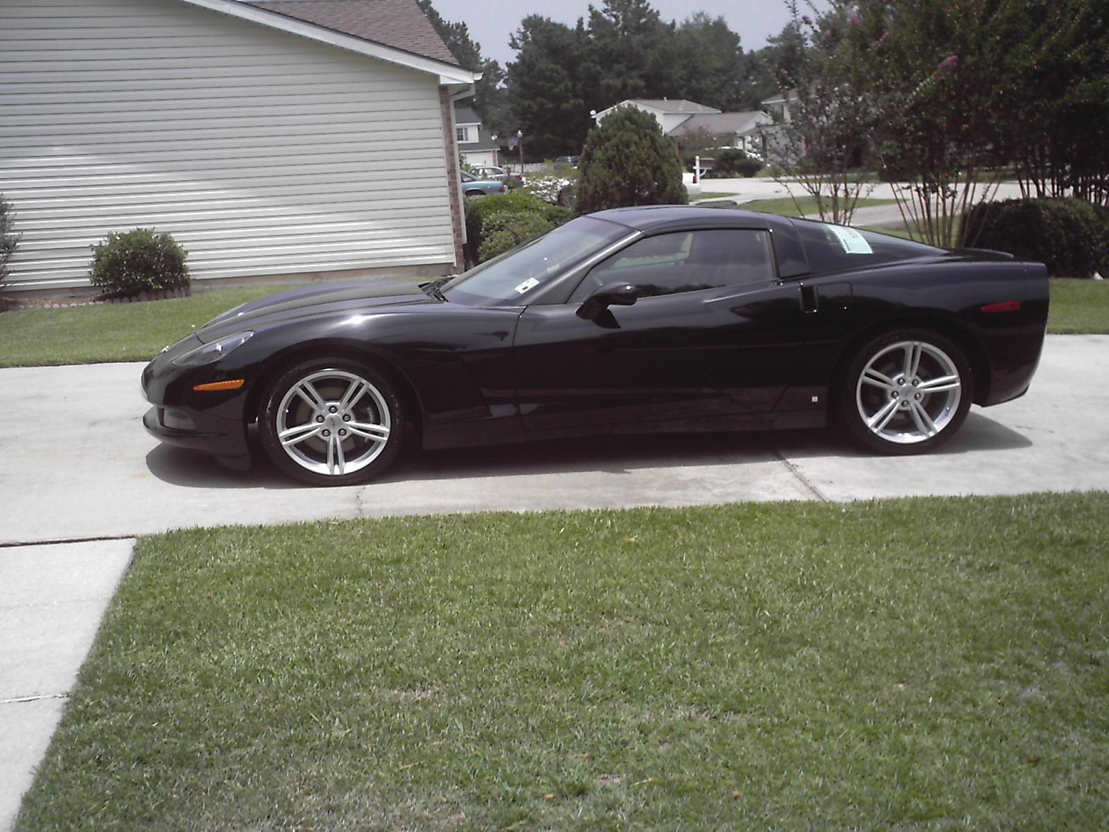 2008 Chevrolet Corvette Coupe, 2008 Chevrolet Corvette Base picture, exterior
