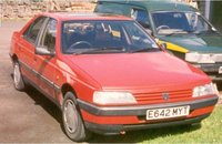 Picture of 1993 Peugeot 405, exterior