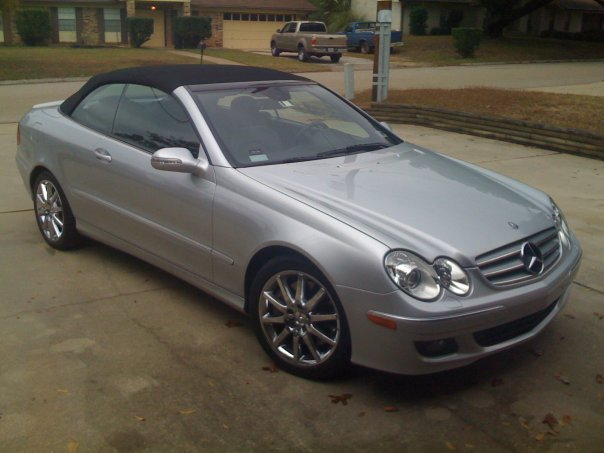 Used mercedes 350 clk convertible for 2007 mercedes benz clk